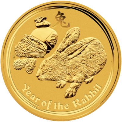 Year of the Rabbit 2011 - 1/10 oz